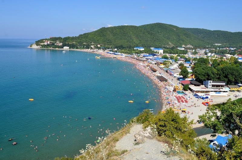 Общее фото пляжа
